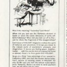 "1965 Holiday Magazine Ad ""Gypsy"""