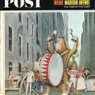 """1965 Saturday Evening Post Cover Page """"Madison Avenue"""" ~ March 13, 1965"""
