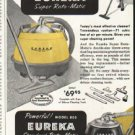 """1956 Eureka Cleaner Ad """"Nothing cleans better"""""""
