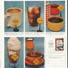 "1956 Pan-American Coffee Bureau Ad ""For safety's sake"""