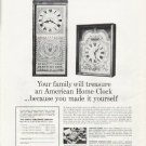 """1965 American Home Clock Ad """"Your family"""""""
