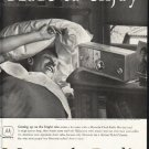 "1958 Motorola Radio Ad ""More to enjoy"""