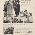 "1938 Sanka Coffee Ad ""Frenchman Kisses Me!"""