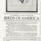 "1965 Birds of America Ad ""Arthur Singer"""