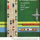 "1956 Kennecott Copper Ad ""in transportation"""