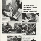 """1965 Red Cross Ad """"your money"""""""
