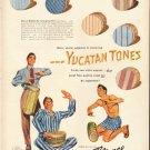 "1948 Reliance Shirts Ad ""Yucatan Tones"""