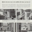 """1958 Carrier Air Conditioner Ad """"the house you live in"""""""