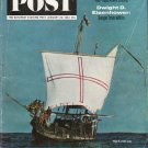 """1963 Saturday Evening Post Cover Page """"Columbus Ship"""" ~ January 26, 1963"""