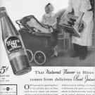 """1937 Hires Root Beer Ad """"Send The Rest"""""""