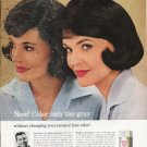 """1965 Loving Care Ad """"Color only the gray"""""""