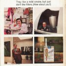"""1965 Chesterfield Cigarettes Ad """"Chesterfield People"""""""