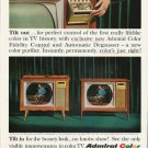 """1965 Admiral Television Ad """"Tilt out"""""""