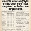 "1973 American Motors Ad ""Once and for all"" ~ (model year 1973)"