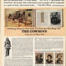 "1972 Time-Life Books Ad ""The Old West"""