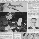 "1937 Hamilton Watch Ad ""Great Air Fleet"""