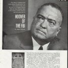 1965 Hoover of the FBI Article ~ by James Phelan