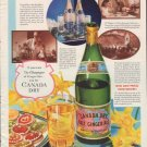 """1937 Canada Dry Ad """"Champagne of Ginger Ales"""""""