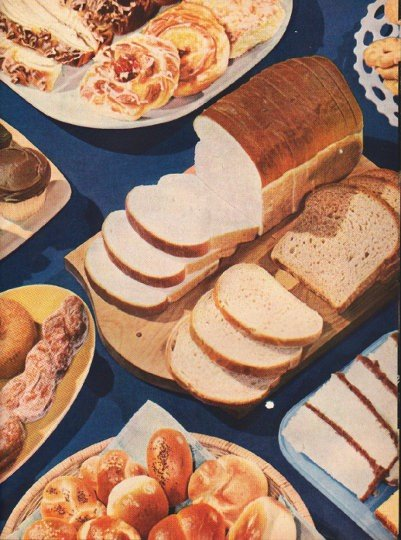 "1948 American Bakers Association Ad ""Handle With Care"""