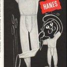 """1956 Hanes Ad """"So warm"""""""