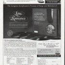 "1965 Longines Symphonette Ad ""Treasury of Songs"""