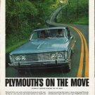 "1963 Plymouth Ad ""on the move"" ~ (model year 1963)"