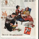"1963 7-Up Ad ""this quick, fresh lift"""