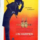 "1962 I.W. Harper Bourbon Whiskey Ad ""always a pleasure"""