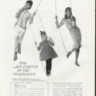 """1965 Ladies' Home Journal Ad """"stretch of the imagination"""""""