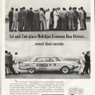 """1961 Ford Falcon Ad """"1st and 2nd place"""" ~ (model year 1961)"""
