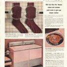"1956 General Electric Ad ""No Lint Fuzz"""