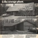 "1972 Electric Light and Power Companies Ad ""without a doorbell"""