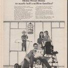 """1965 Metropolitan Life Ad """"Home Sweet Home"""""""