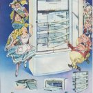 "1948 Philco Refrigerator Ad ""Alice's Adventures in Philcoland"""