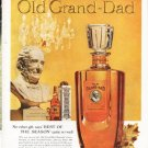 "1961 Old Grand-Dad Ad ""No other gift"""