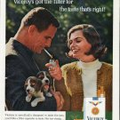 """1965 Viceroy Cigarettes Ad """"taste that's right"""""""