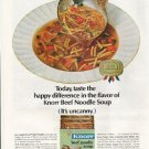 "1964 Knorr Soup Ad ""Beef Noodle"""