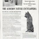 """1965 The Audubon Nature Encyclopedia Ad """"get the first volume free"""""""