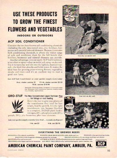 1953 American Chemical Paint Co. Ad