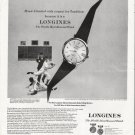 """1964 Longines-Wittnauer Watch Ad """"respect for Tradition"""""""