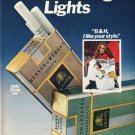 "1980 Benson & Hedges Cigarettes Ad ""I like your style"""