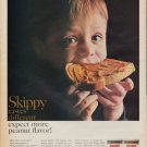 "1967 Skippy Peanut Butter Ad ""Different"""