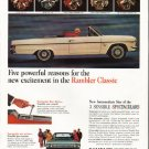 "1965 Rambler Classic Ad ""Five powerful reasons"" ~ (model year 1965)"