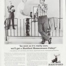 """1959 The Hartford Insurance Ad """"really ours"""""""