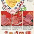 """1961 Wilson's Certified Meats Ad """"Whee"""""""