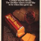 "1980 Cracker Barrel Cheese Ad ""The cheddar"""