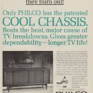 """1963 Philco Television Ad """"Cool Chassis"""""""