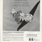 "1964 Longines-Wittnauer Watch Ad ""Ultra-thin"""