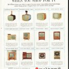 """1958 RCA Victor Ad """"Take this value"""""""