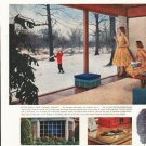 """1958 Pittsburgh Plate Glass Ad """"7 ways"""""""